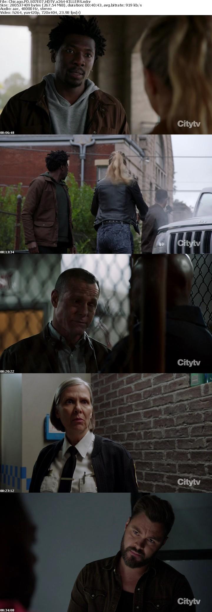 Chicago PD S07E07 HDTV x264-KILLERS