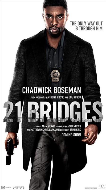 21 Bridges (2019) 720p HDCAM 900MB getb8 x264-BONSAI