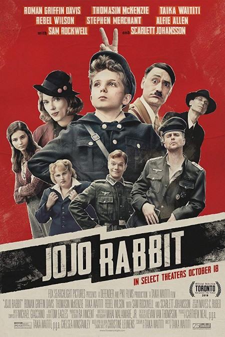 Jojo Rabbit (2019) 1080p BluRay 1400MB DD5.1 x264-GalaxyRG