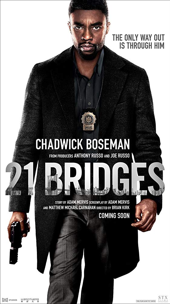 21 Bridges 2019 720p 10bit BluRay 6CH x265 HEVC-PSA