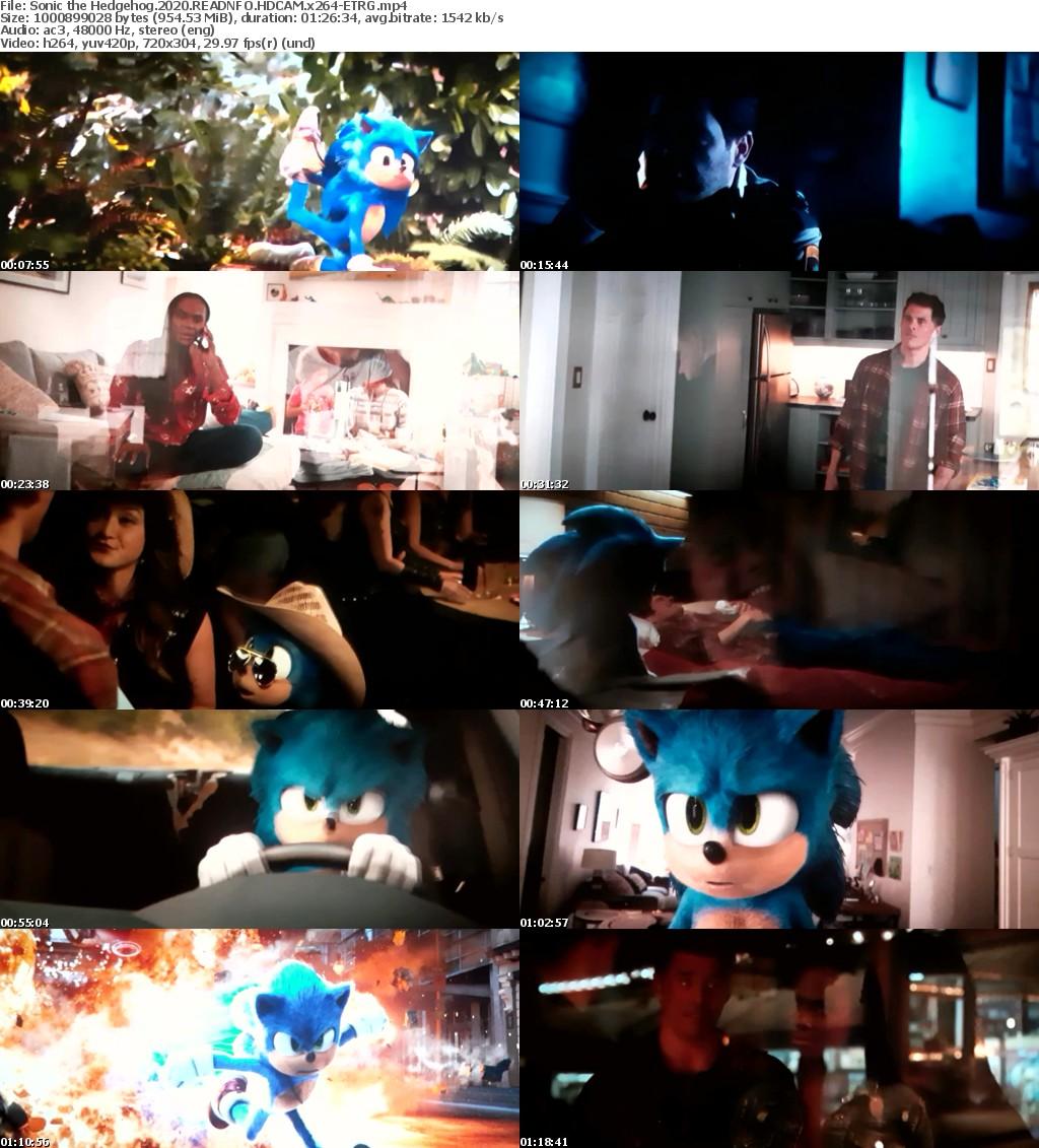 Sonic the Hedgehog (2020) READNFO HDCAM x264-ETRG