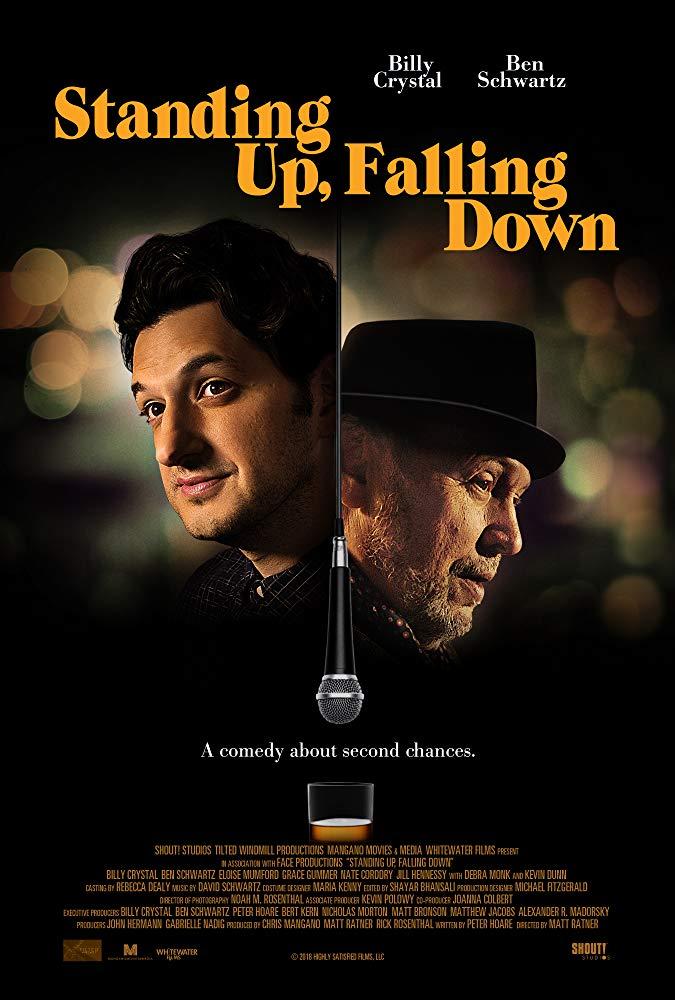 Standing Up Falling Down 2019 720p WEBRip 800MB x264-GalaxyRG