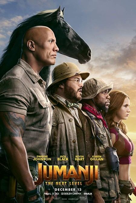 Jumanji The Next Level (2019) 1080p WEB-Rip X264 AC3 - 5-1 KINGDOM-RG