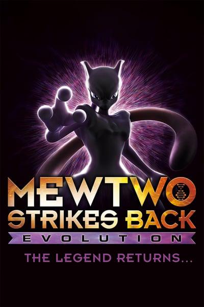 Pokemon Mewtwo Strikes Back Evolution (2019) 1080p WEB-DL x264 Dual Audio H ...