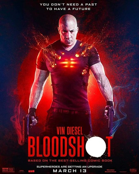 Bloodshot (2020) 720p AMZN WEBRip Dual Audio Hindi + English ESub 950 MB x264 - Shadow