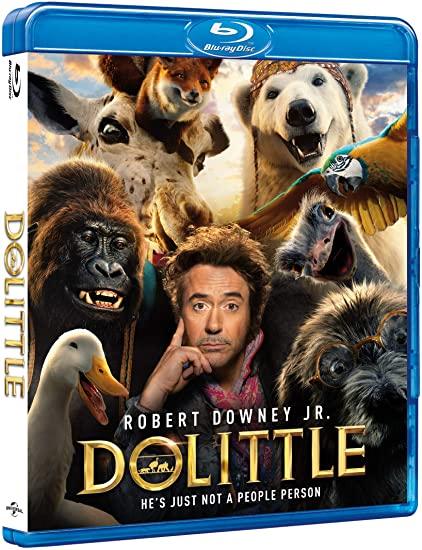 Dolittle (2020) 1080p WEBRip 1400MB DD5.1 x264-GalaxyRG
