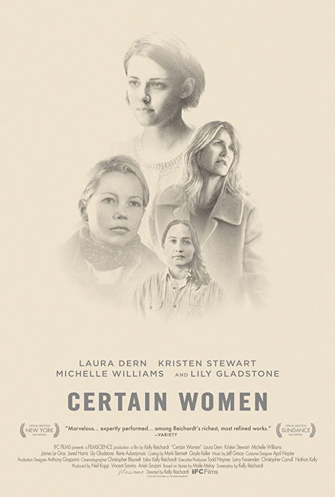 Certain Women (2016) [1080p] [BluRay] [YTS MX]