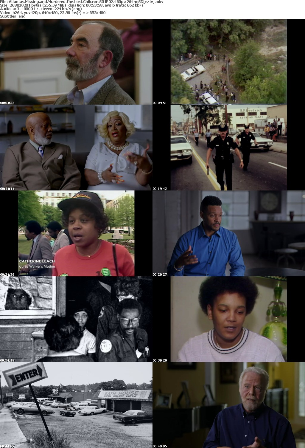 Atlantas Missing and Murdered The Lost Children S01E02 480p x264-mSD