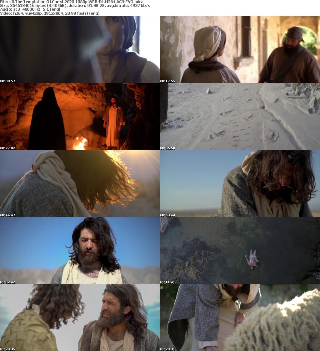 40 The Temptation Of Christ (2020) 1080p WEB-DL H264 AC3-EVO