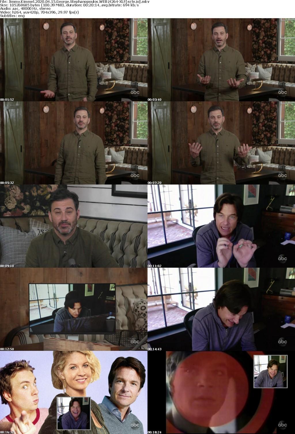 Jimmy Kimmel 2020 04 15 George Stephanopoulos WEB H264-XLF