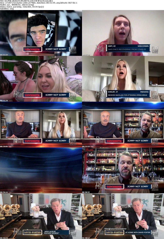 Dr Phil 2020 04 09 HDTV x264-W4F