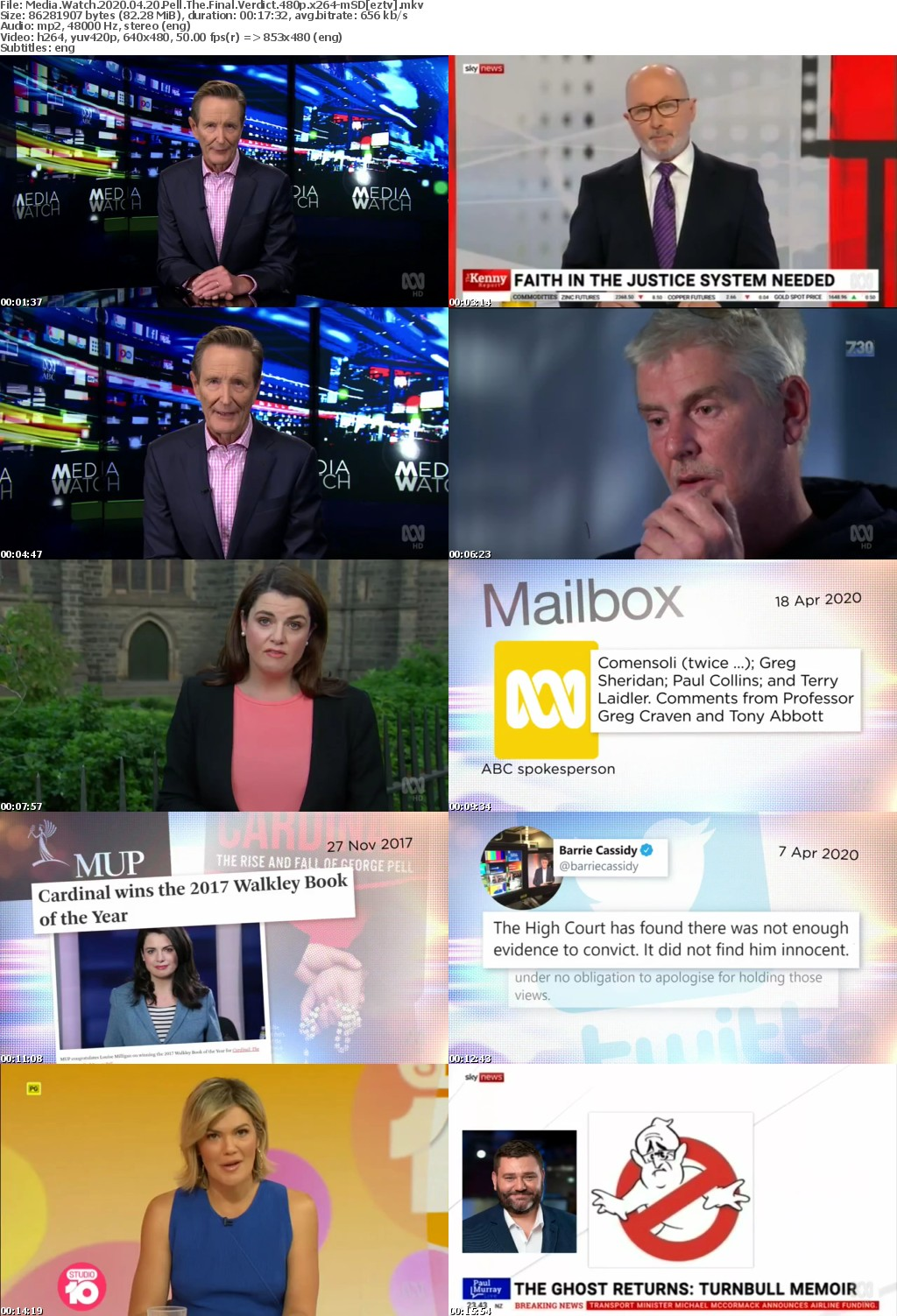 Media Watch 2020 04 20 Pell The Final Verdict 480p x264-mSD