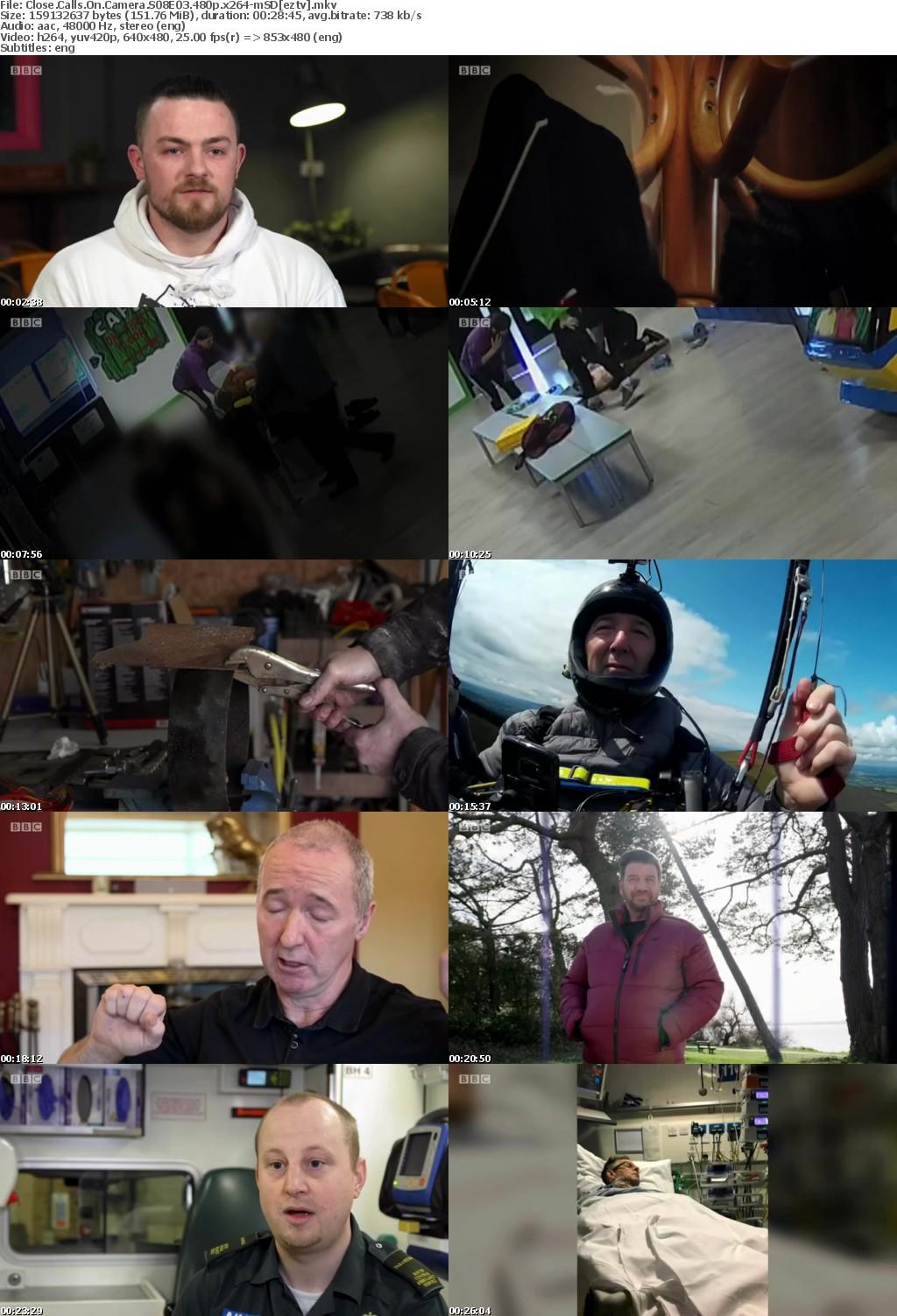 Close Calls On Camera S08E03 480p x264-mSD