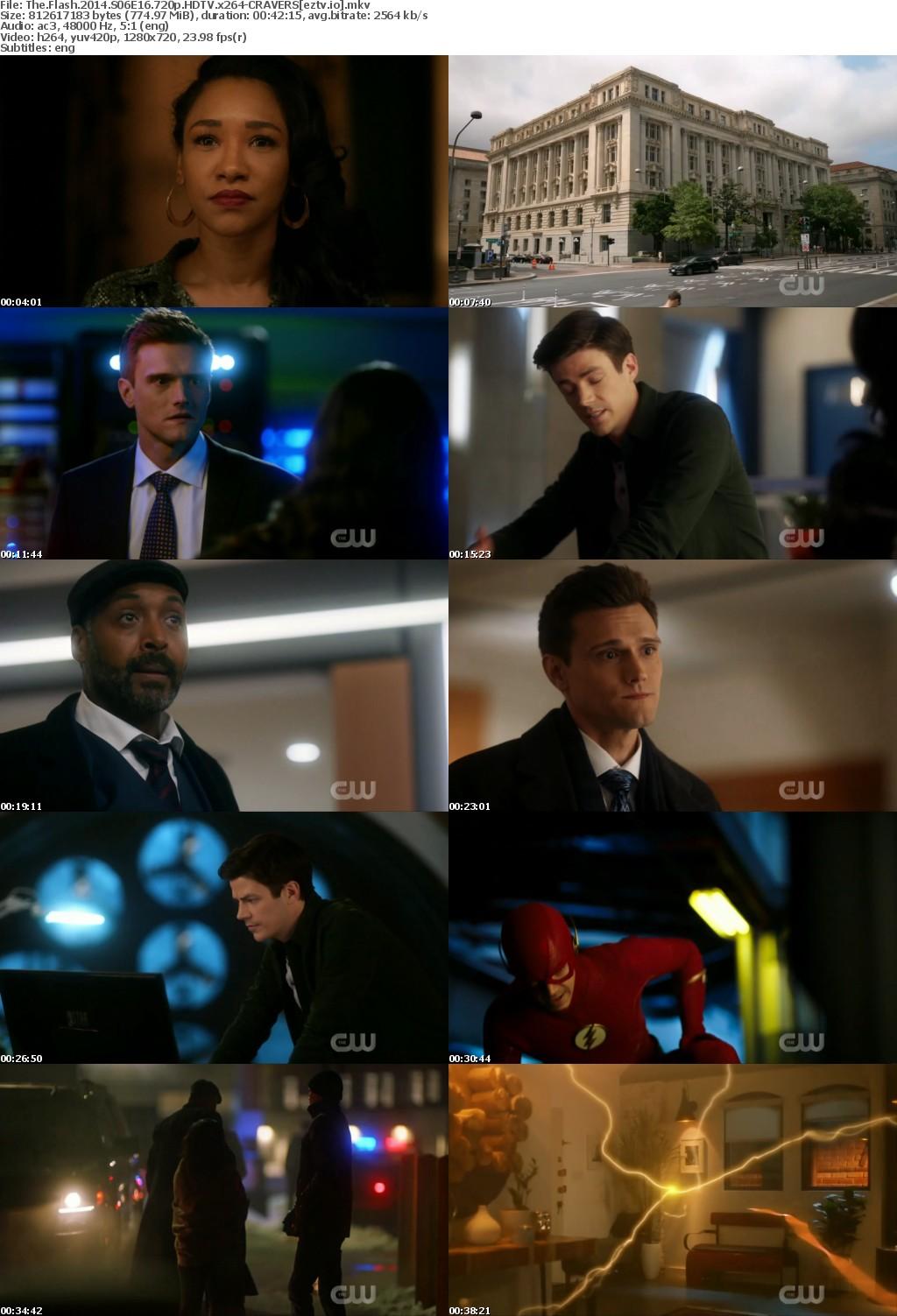 The Flash 2014 S06E16 720p HDTV x264-CRAVERS