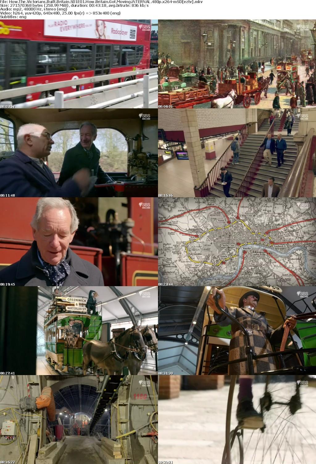 How The Victorians Built Britain S01E01 How Britain Got Moving iNTERNAL 480p x264-mSD