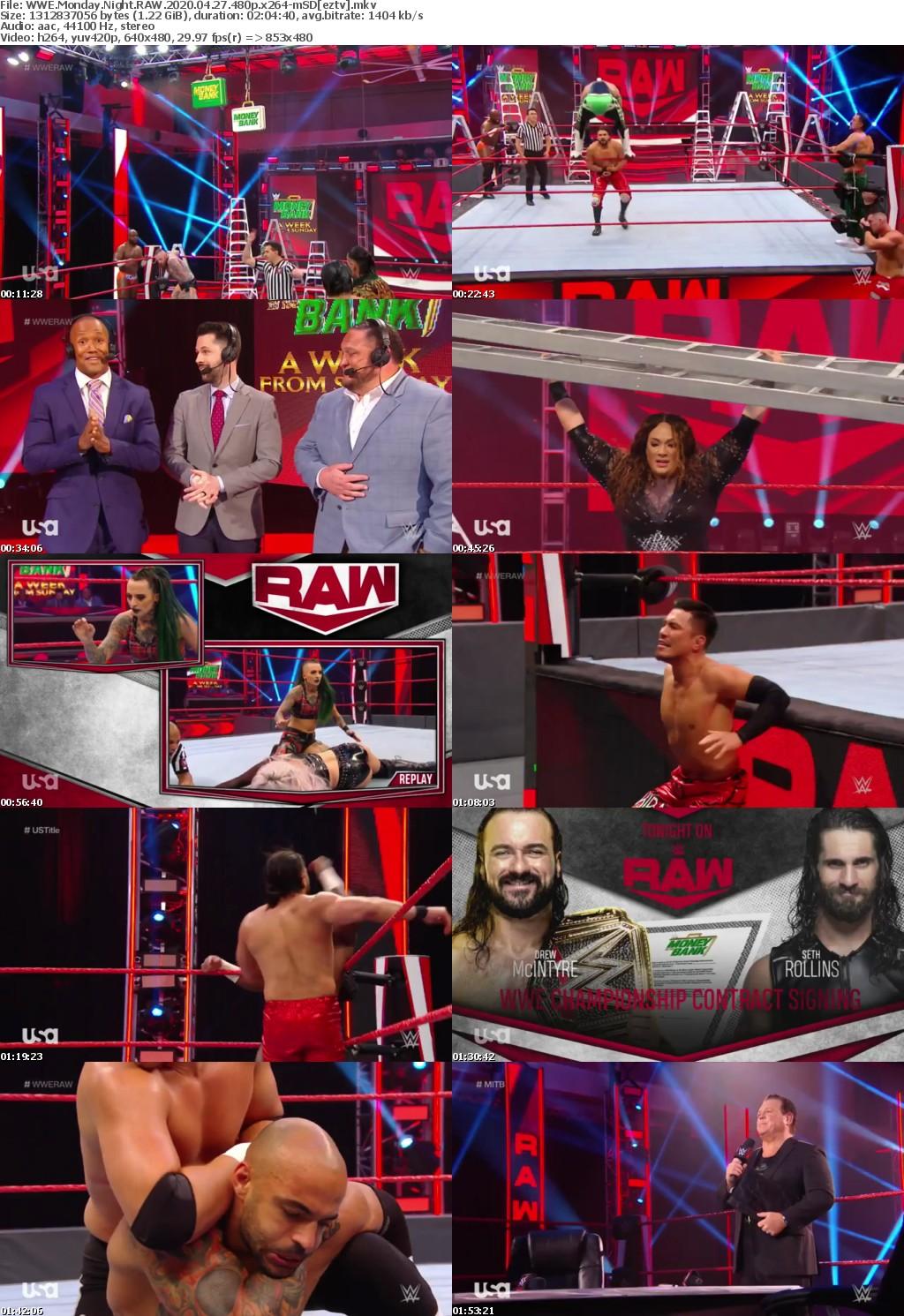 WWE Monday Night RAW 2020 04 27 480p x264-mSD