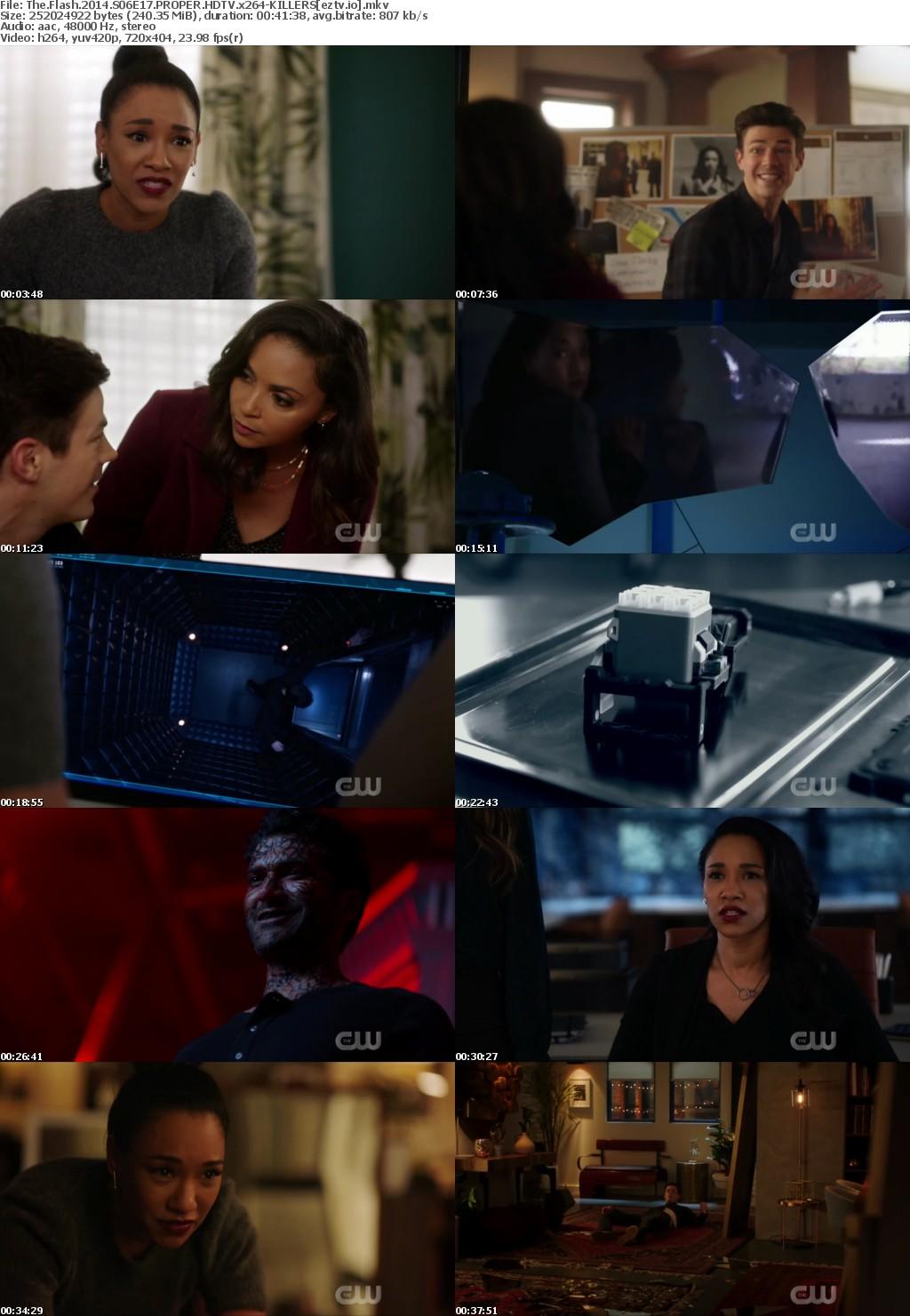 The Flash 2014 S06E17 PROPER HDTV x264-KILLERS