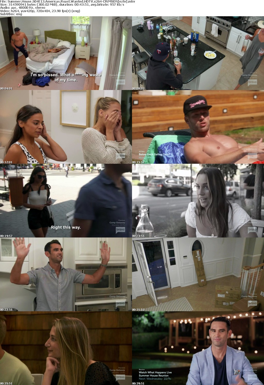 Summer House S04E13 Americas Roast Wanted HDTV x264-CRiMSON