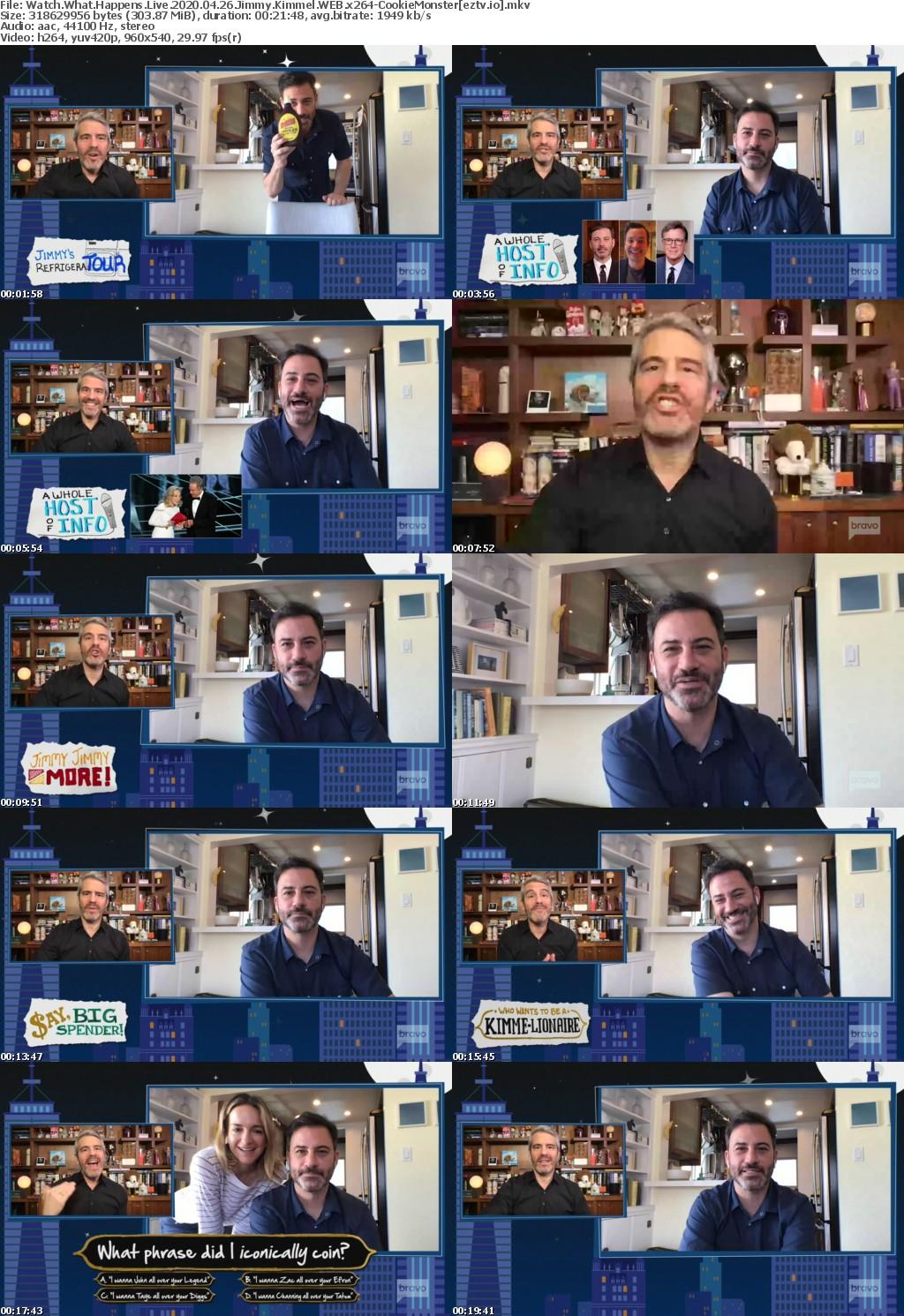 Watch What Happens Live 2020 04 26 Jimmy Kimmel WEB x264-CookieMonster