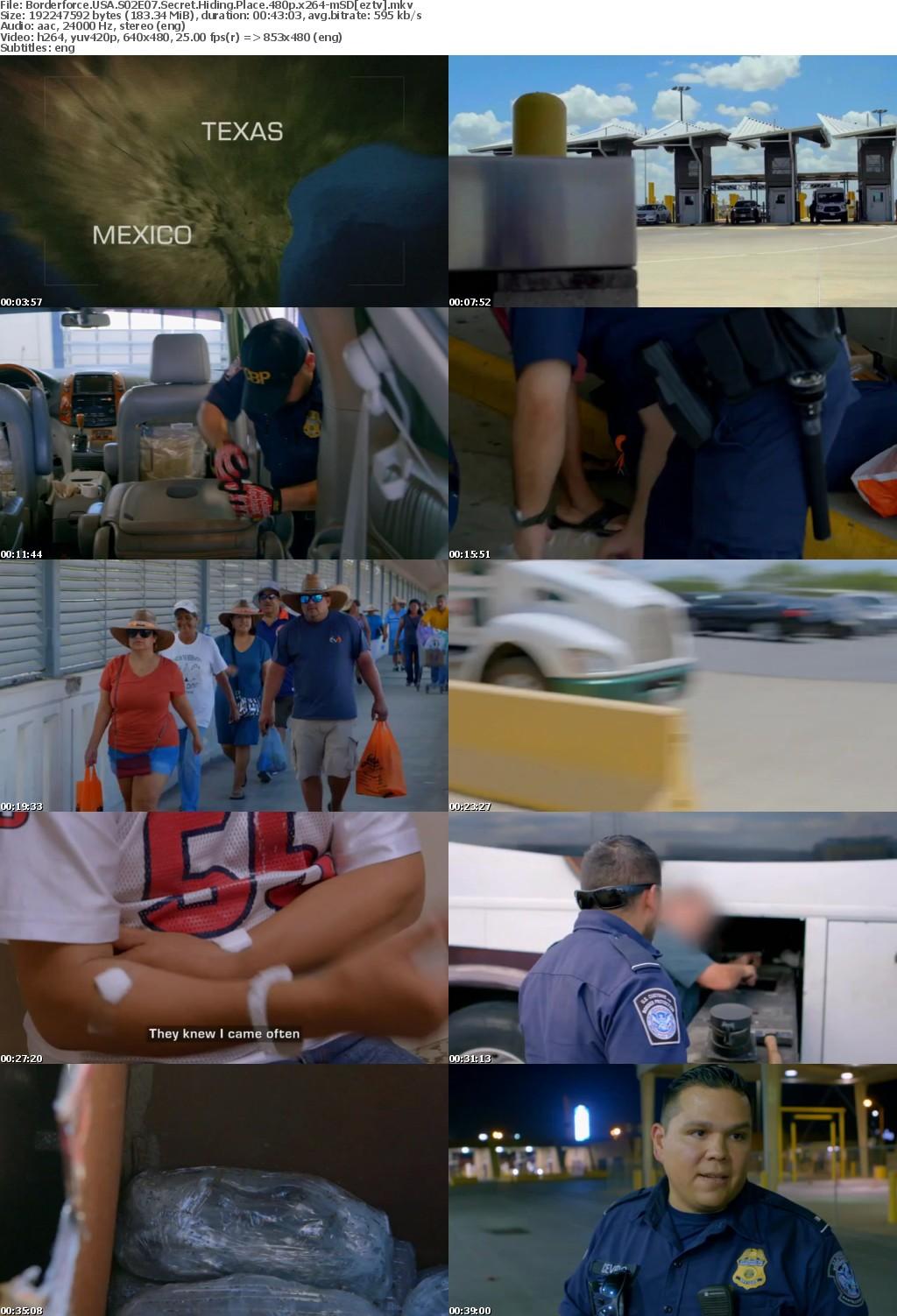 Borderforce USA S02E07 Secret Hiding Place 480p x264-mSD