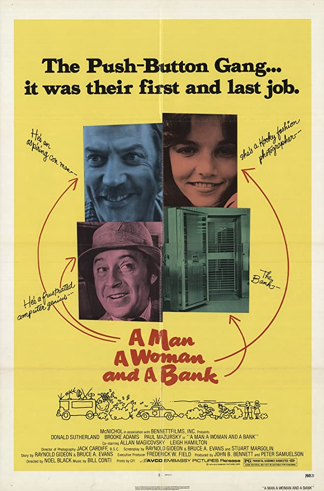 A Man a Woman and a Bank 1979 BRRip XviD MP3-XVID