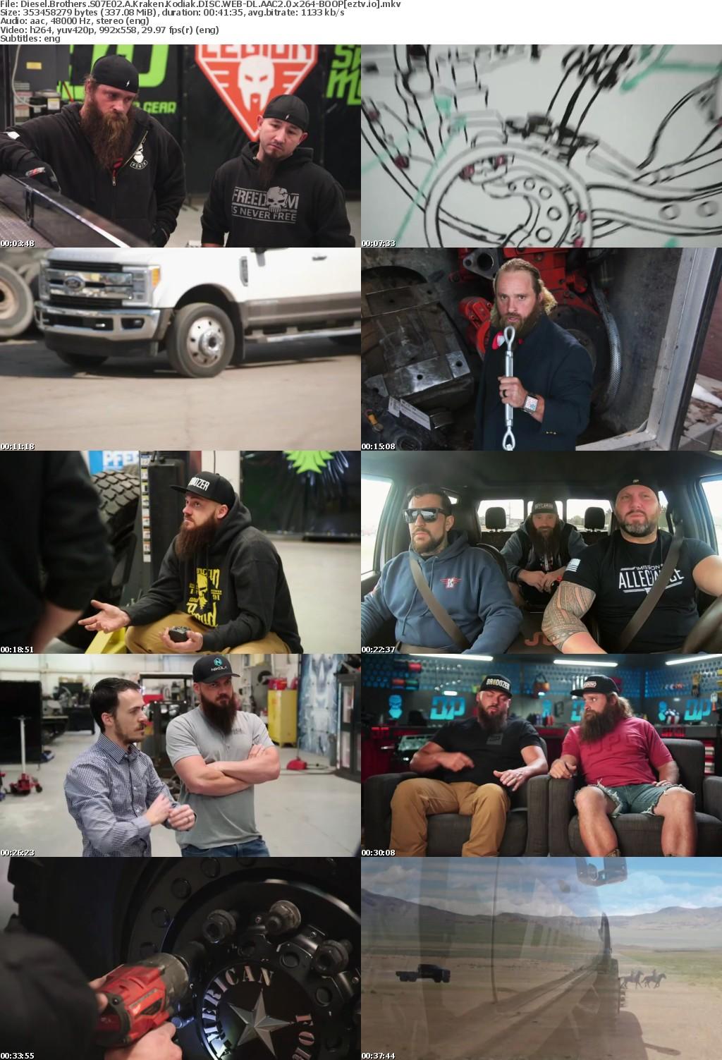 Diesel Brothers S07E02 A Kraken Kodiak DISC WEB-DL AAC2 0 x264-BOOP
