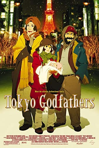 Tokyo Godfathers 2003 REMASTERED DUBBED 1080p BluRay x265-RARBG