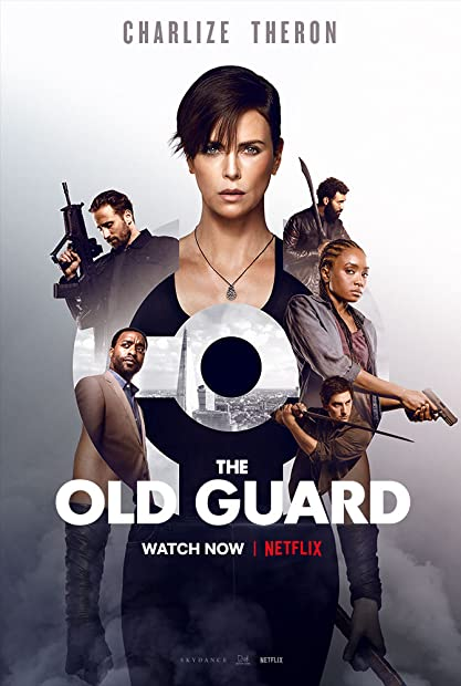 The Old Guard (2020) 1080p NF WEBRip 10bit HEVC x265 Hindi DDP 5 1 + Englis ...