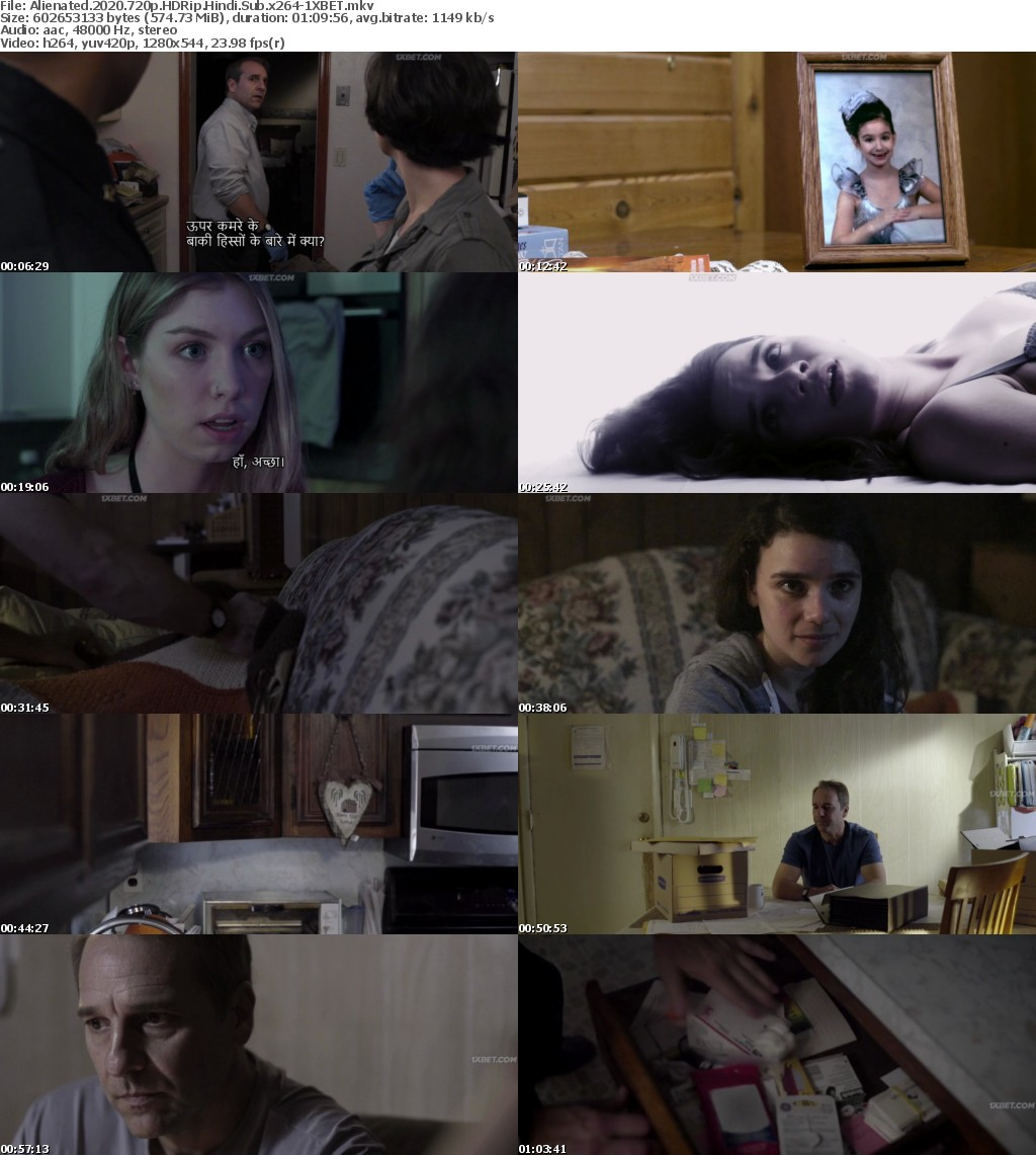 Alienated (2020) 720p HDRip Hindi-Sub x264 - 1XBET