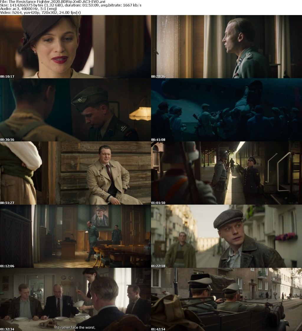 The Resistance Fighter 2020 BDRip XviD AC3-EVO