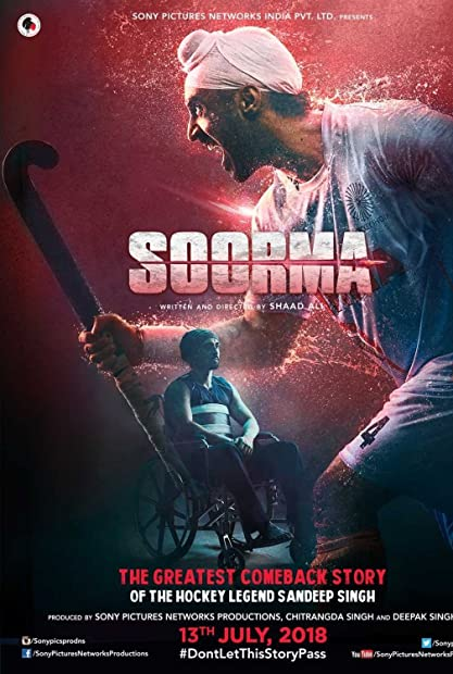 Soorma (2018) Hindi 720p NF WEB-DL - 870 MB - 2CH ESub x264 - Shadow (Bonsa ...