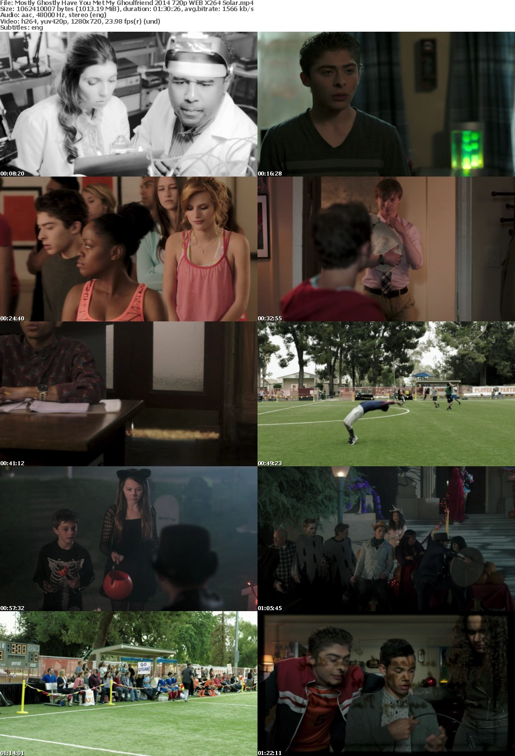 Mostly Ghostly Have You Met My Ghoulfriend 2014 720p WEB X264 Solar