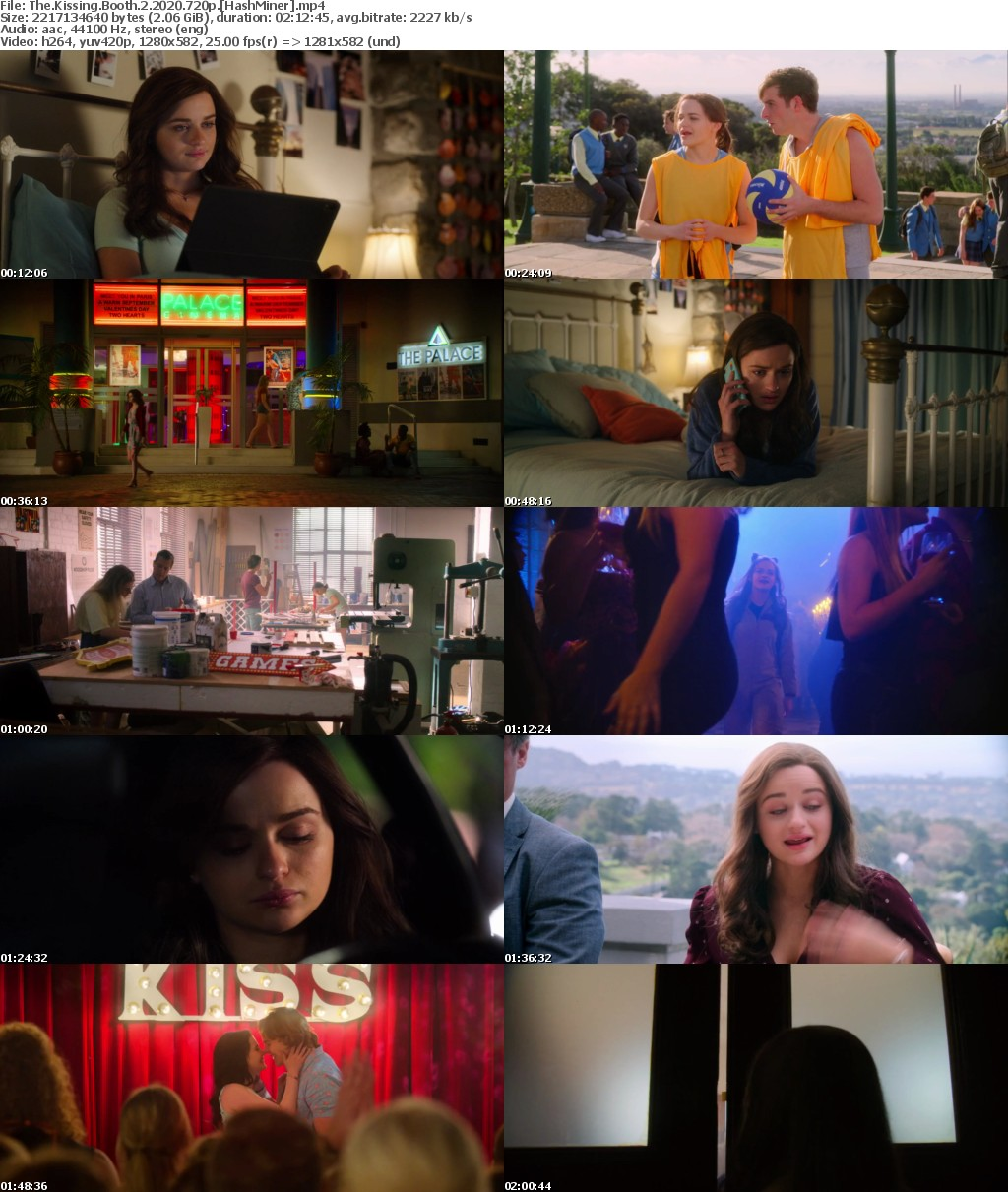 The Kissing Booth 2 2020 720p WEB x264-HashMiner