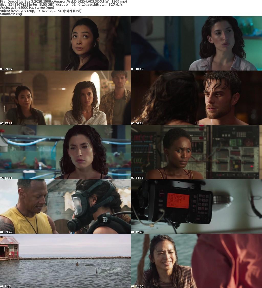 Deep Blue Sea 3 2020 1080p Amazon WebDl H264 AC3 DD5 1 Will1869