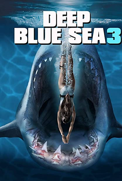 Deep Blue Sea 3 (2020) 720p HDRip Hindi-Dub Dual-Audio x264 - 1XBET