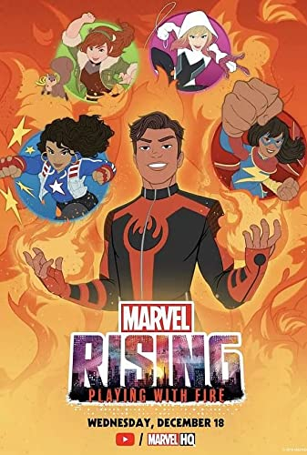 Marvel Rising Playing with Fire 2019 [720p] [WEBRip] YIFY
