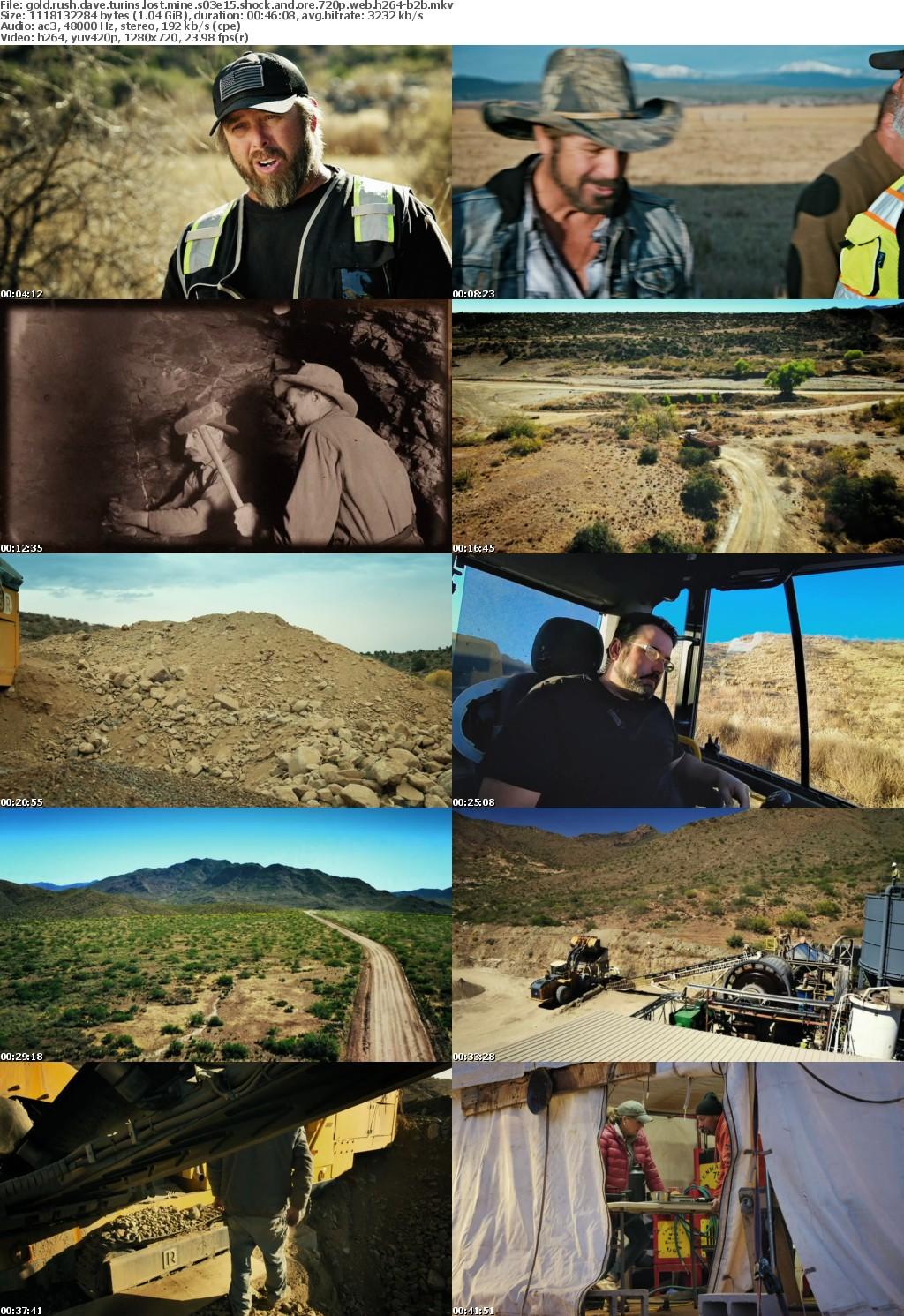 Gold Rush Dave Turins Lost Mine S03E15 Shock and Ore 720p WEB h264-B2B