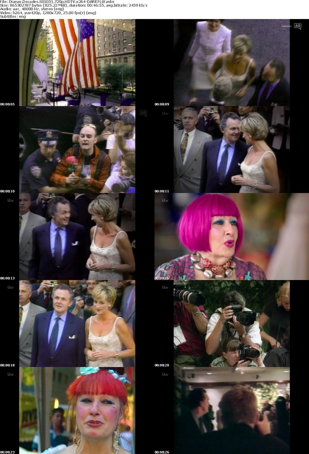 Dianas Decades S01E01 720p HDTV x264-DARKFLiX