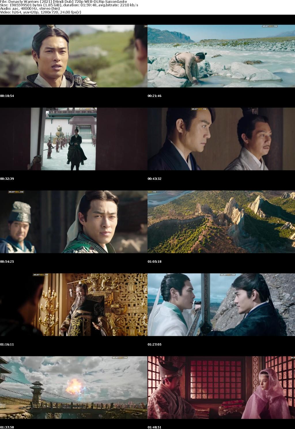 Dynasty Warriors (2021) Hindi Dub 720p WEB-DLRip Saicord