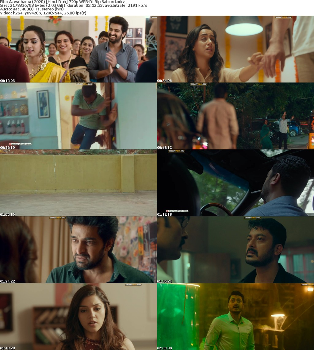 Aswathama (2020) Hindi Dub 720p WEB-DLRip Saicord