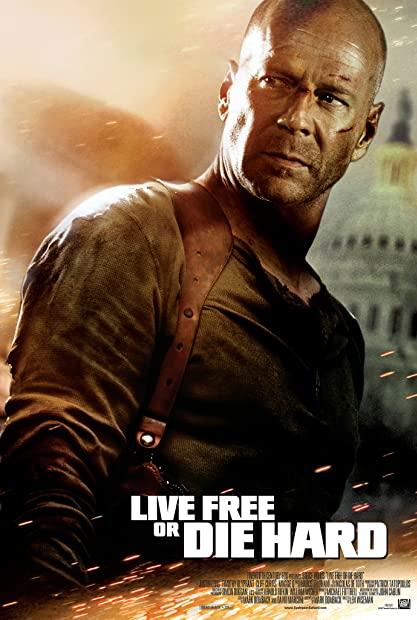 Live Free or Die Hard (2007) 1080p BluRay x264 Hindi English AC3 5 1 ESub - SP3LL