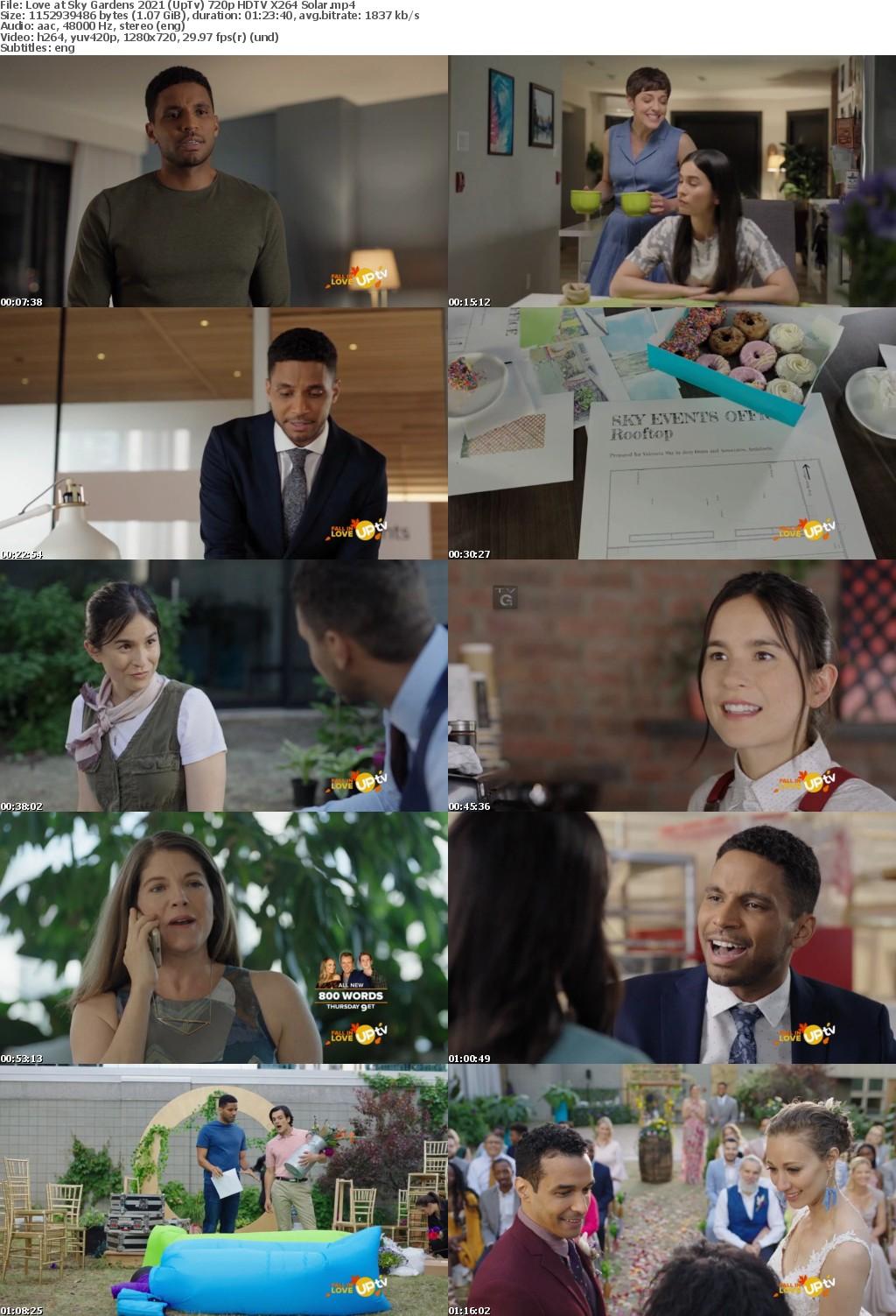 Love at Sky Gardens 2021 (UpTv) 720p HDTV X264 Solar